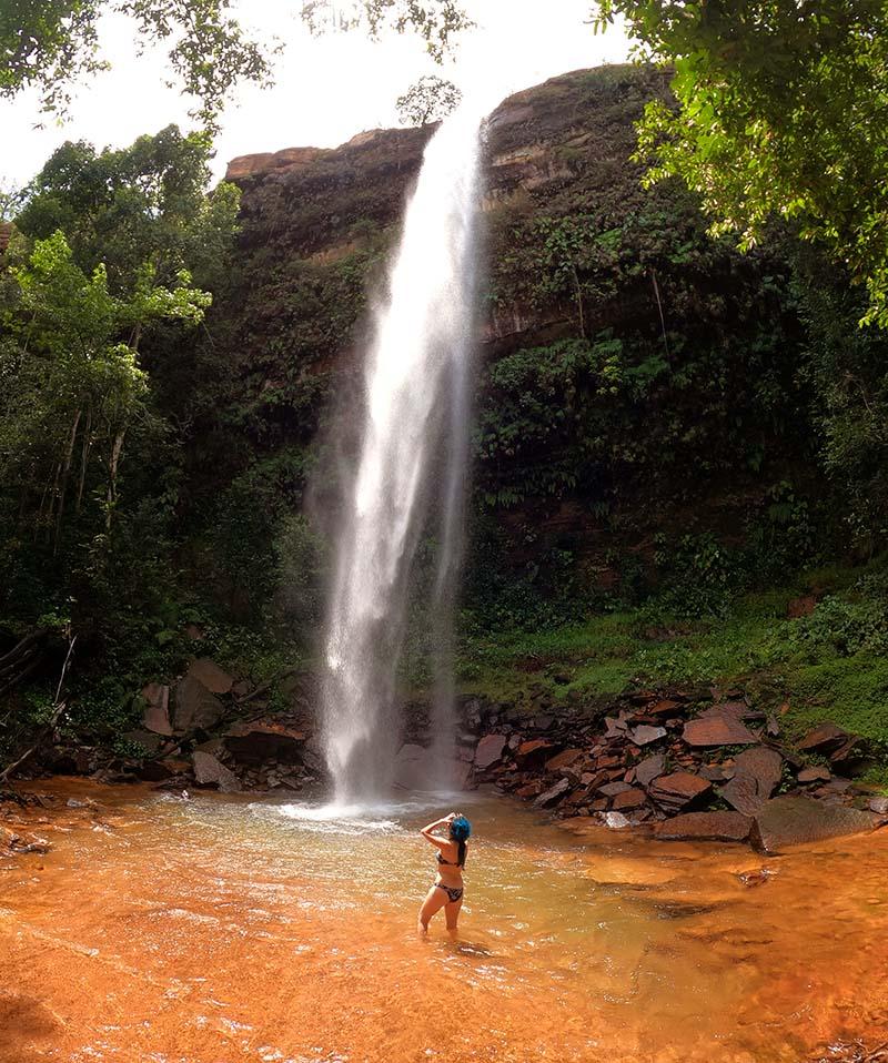 cachoeira urubu rei tocantins roteiro nas serras gerais