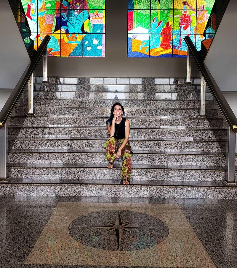 centro geodesico brasil palacio araguaia