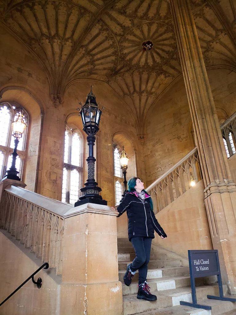 escadaria harry potter oxford