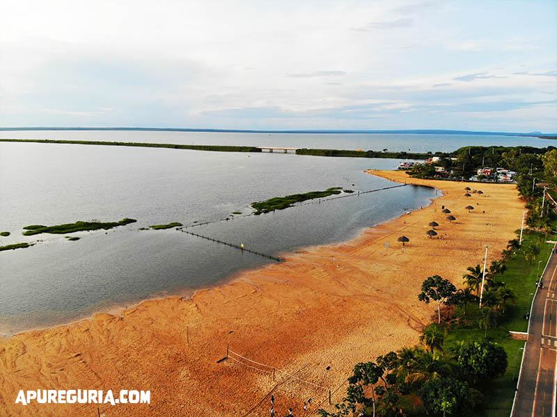 vista area praia da graciosa palmas