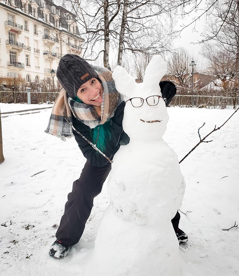 boneco de neve com oculos