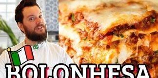 receita lasanha bolonhesa tradicional italiana