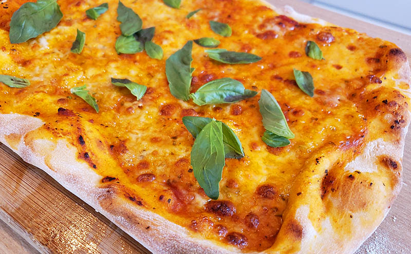 receita pizza margherita