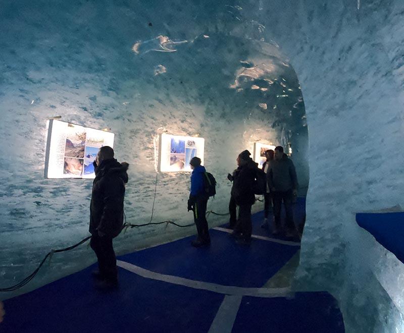tunel de gelo chamonix
