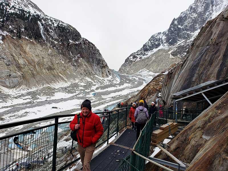 visita mer de glace e montenvers em chamonix