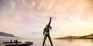 estatua freddie em montreux