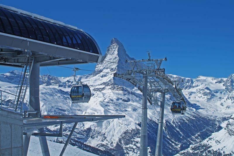 o que fazer em zermatt funicular Sunnegga e Rothorn
