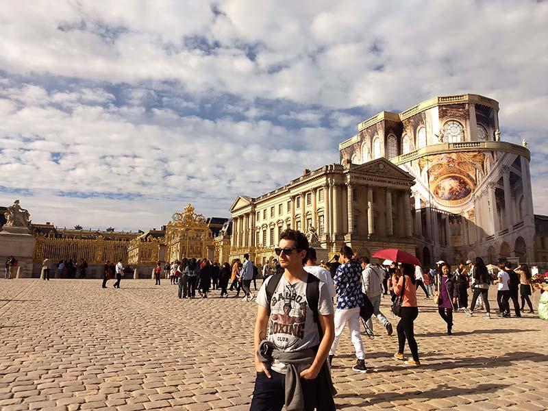 palacio versailles visita franca