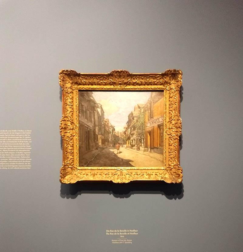 Exposição no Museu Albertina monet