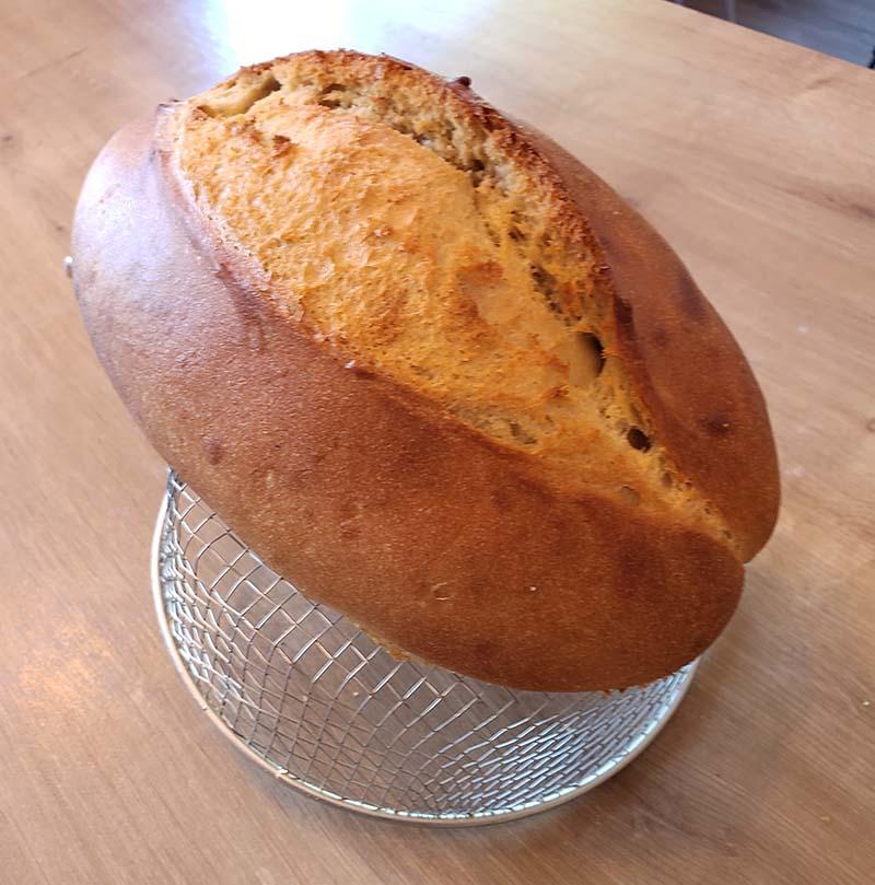 receita de pão caseiro fácil sem ovos
