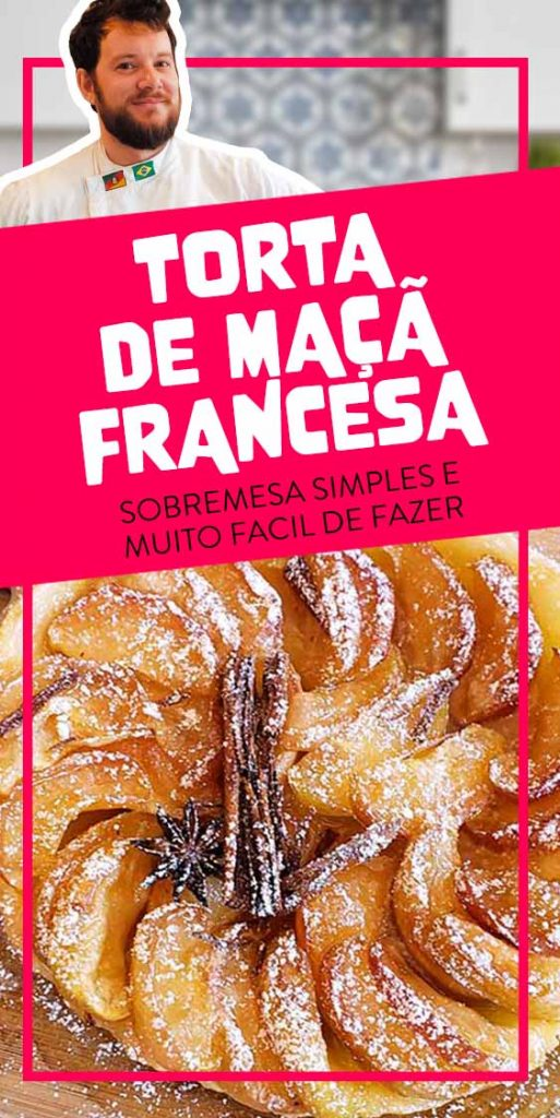 receita torta de maçã francesa tarte tatin