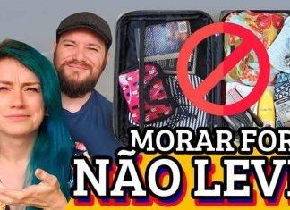 coisas não levar na mala morar fora do brasil