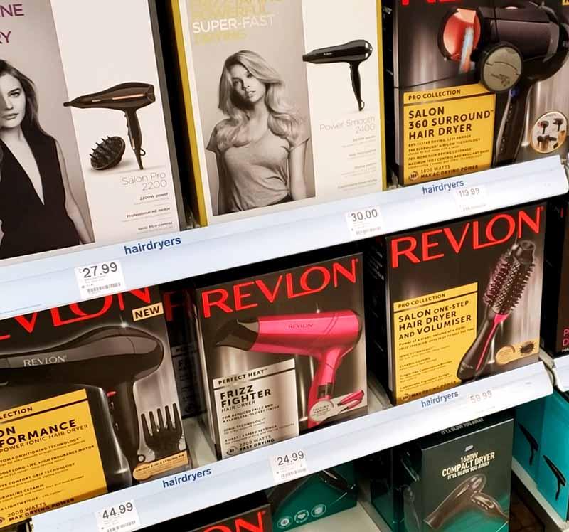 Preços dos secadores de cabelo na inglaterra