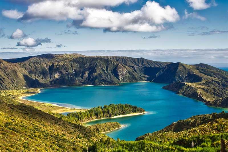 paises mais seguros para viajar apos pandemia ilha de açores portugal