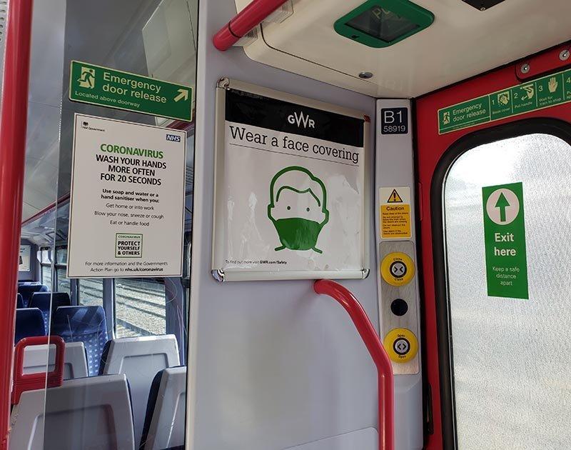 sinalizacao mascara trem