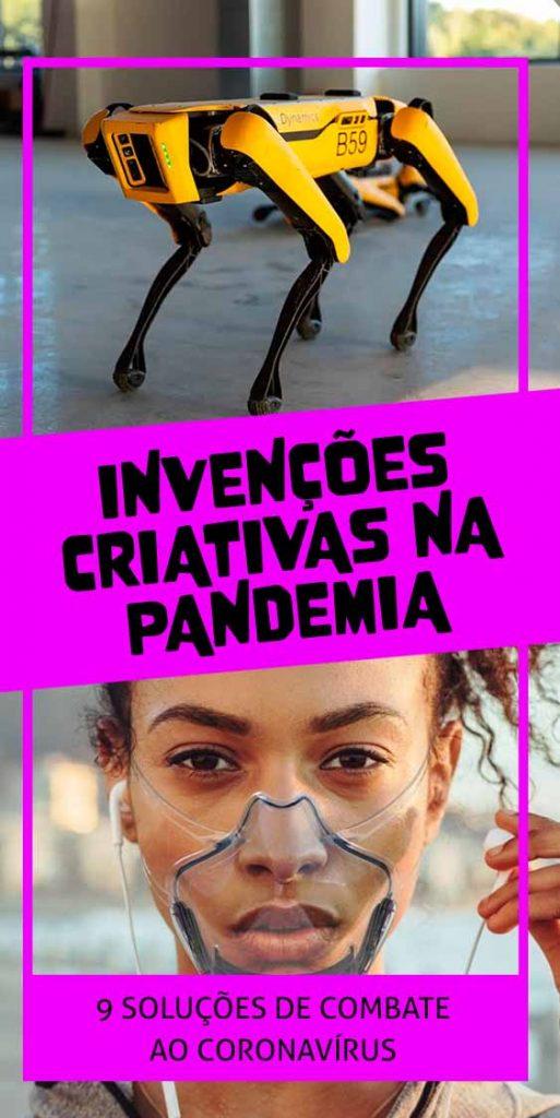 invencoes criativas na pandemia quarentena