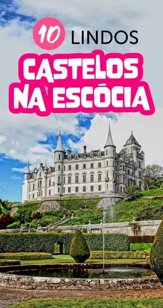 10 lindos castelos na escocia para visitar