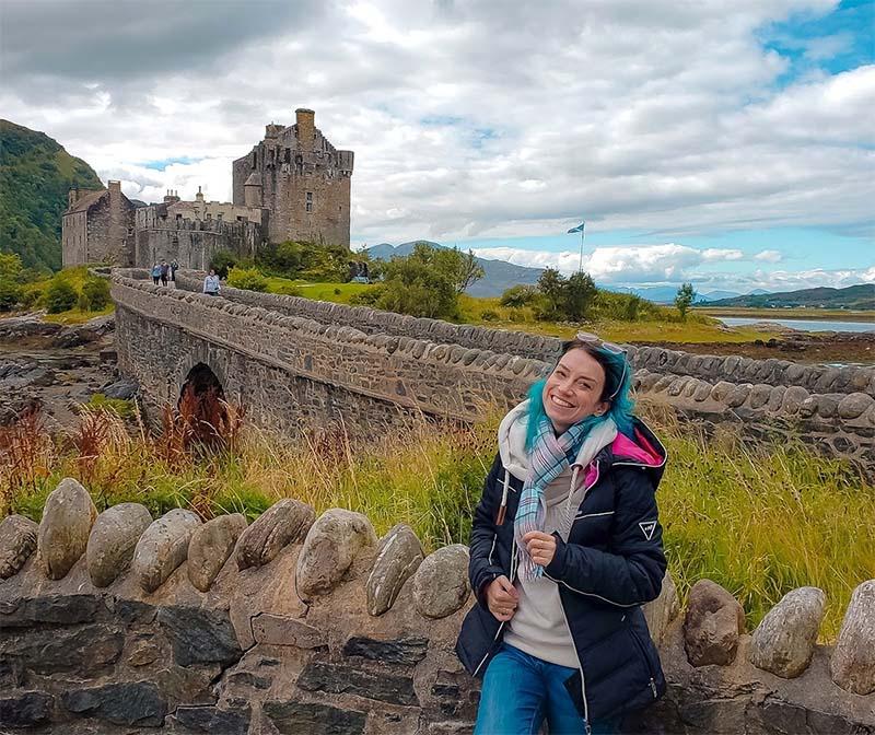 castelo eilean donan escocia skye