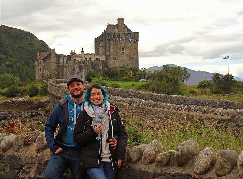 castelo eilean donan escocia