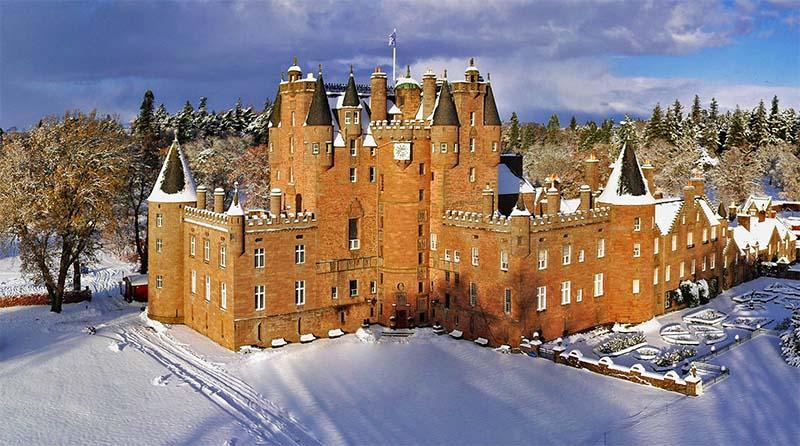 castelo glamis neve