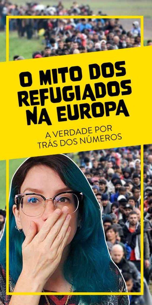 refugiados na europa numeros