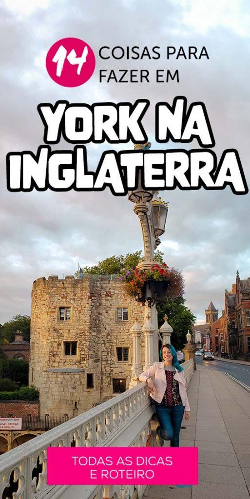 14 coisas para fazer em York na Inglaterra