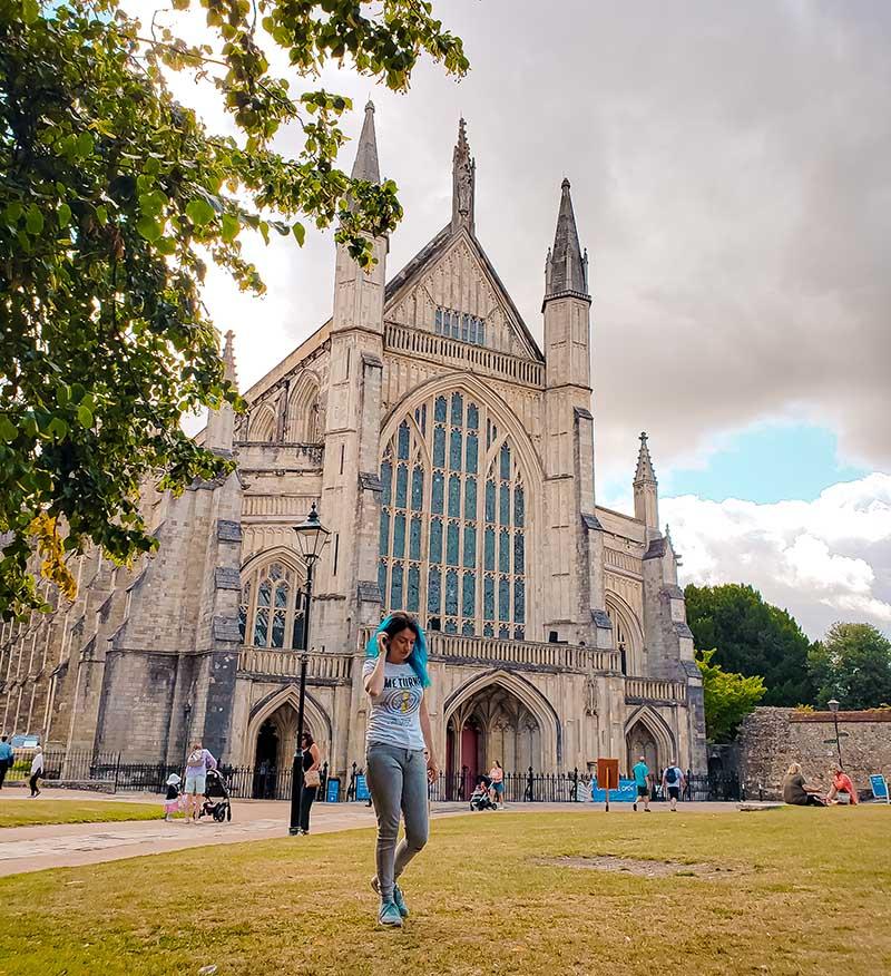 catedral winchester gotica