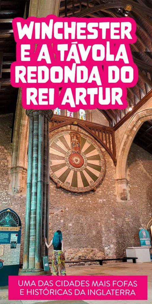 winchester e tavola redonda do rei Artur