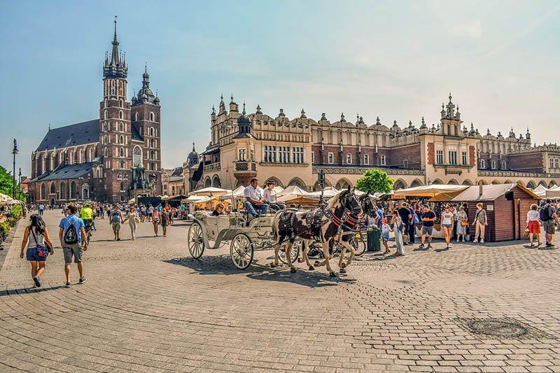 10 cidades baratas na europa para visitar cracovia