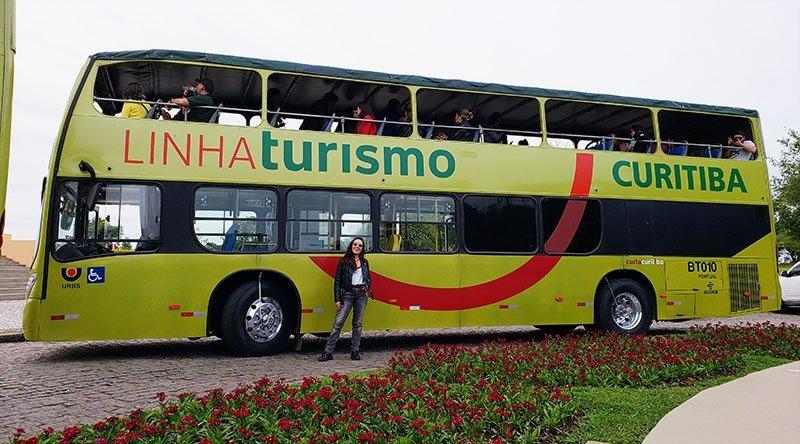 como funciona linha turismo curitiba