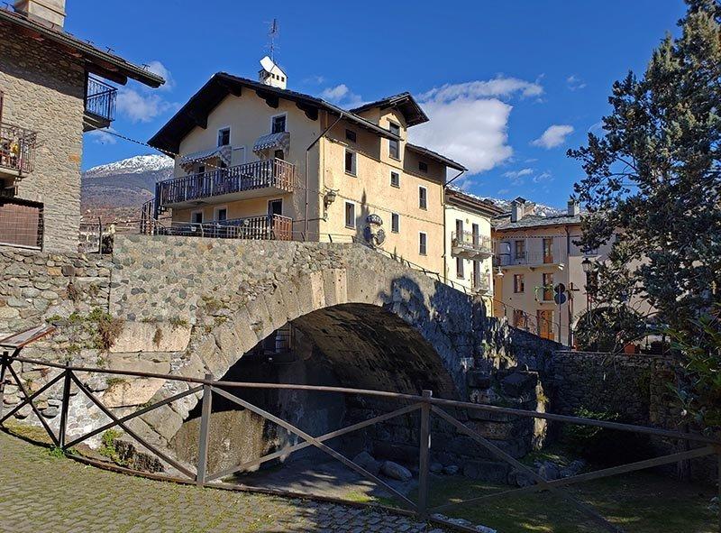 ponte romana rio Buthier