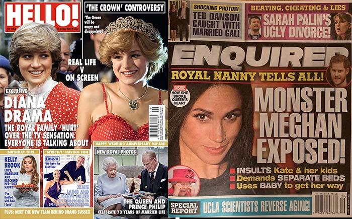 revistas fofocas familia real britanca