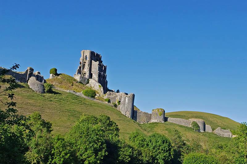corfe castle ruinas