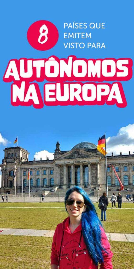 visto para autonomo na europa