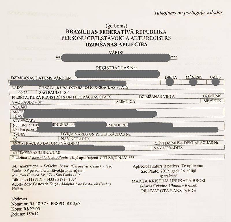 dupla cidadania letonia reconhecimento
