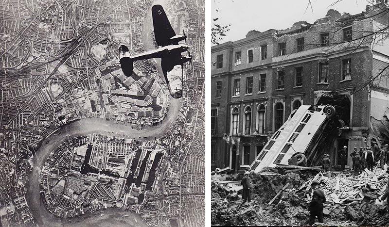 bombardeios londres segunda guerra mundial