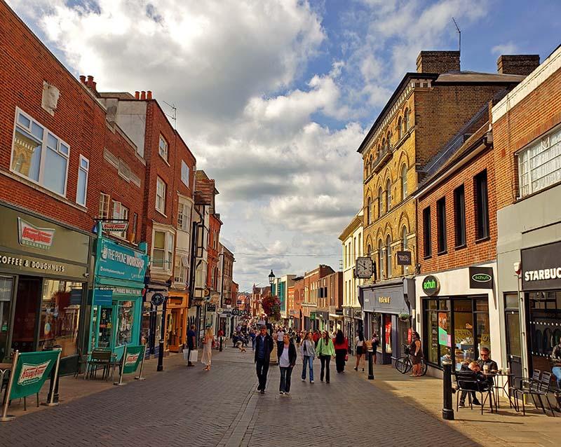 lojas turistas high street