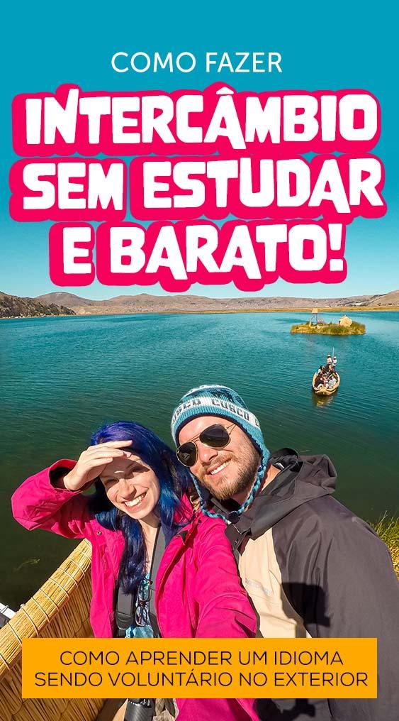 como fazer intercambio sem estudar barato de idioma fora do brasil
