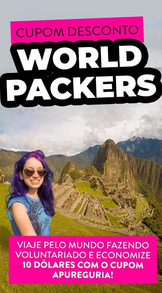 cupom desconto worldpackers brasil codigo promocional