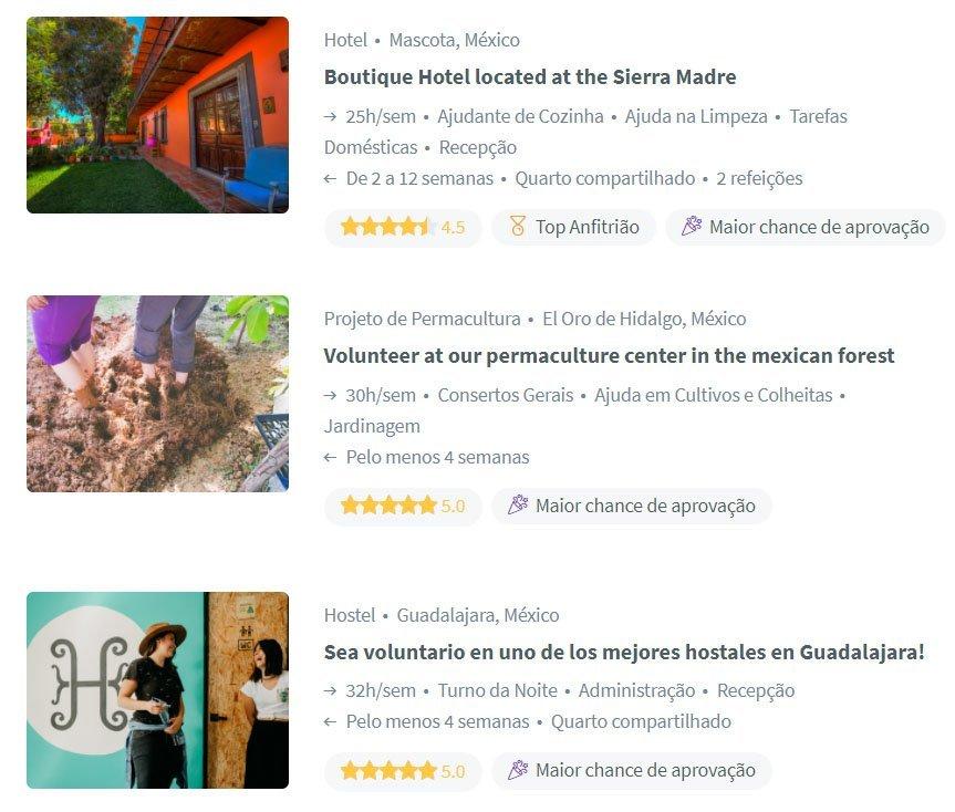 dicas espanhol voluntariado mexico