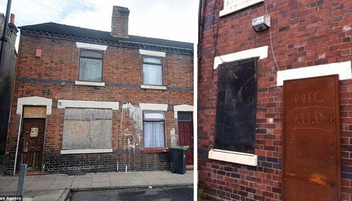 pobreza inglaterra casa barata