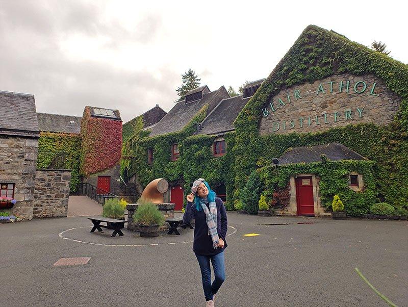 Destilaria de Whisky em Cairgorns Escócia