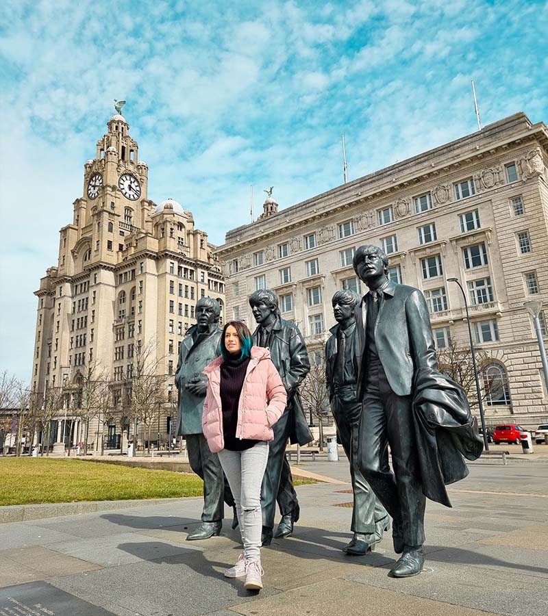 atracoes beatles liverpool estatua