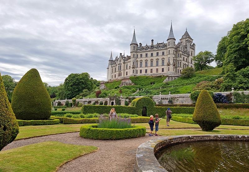 castelo dunrobin escocia