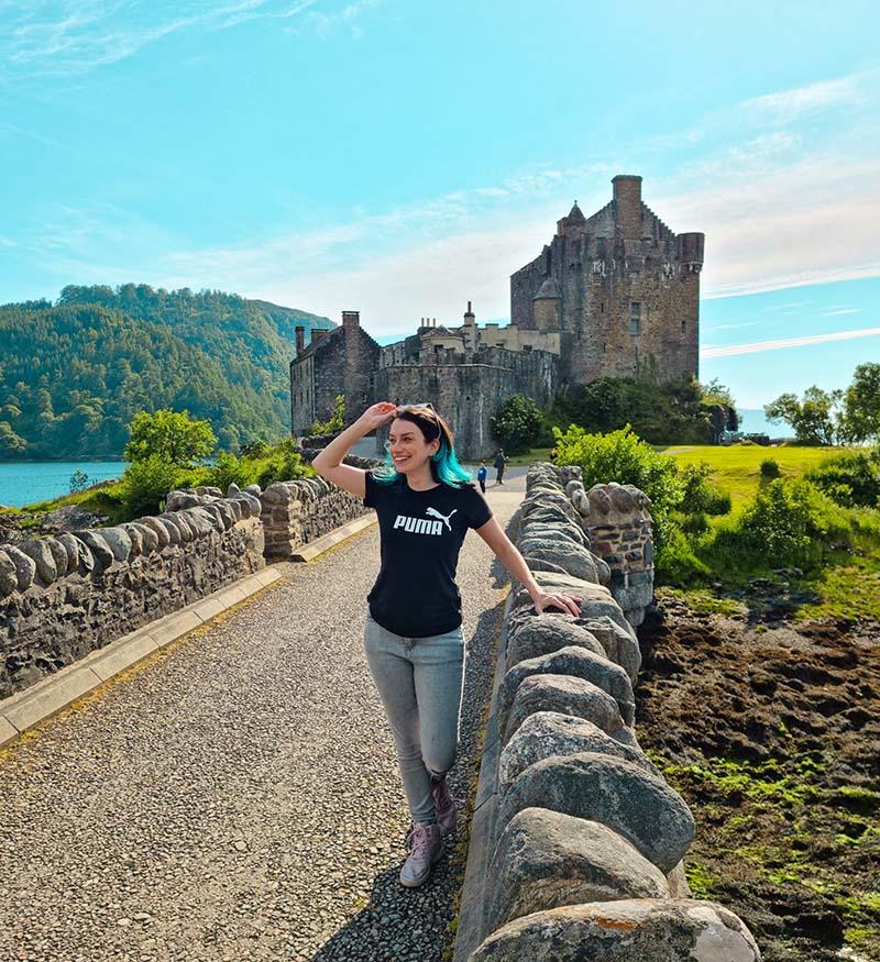 castelo eilean donan na escocia