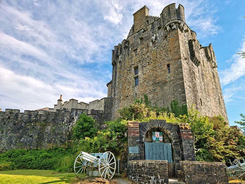 dicas castelo ilha na escocia