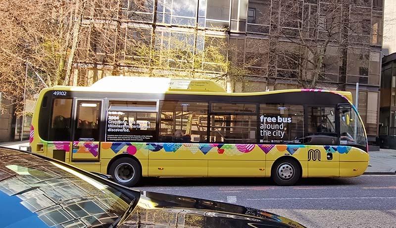 dicas de viagem manchester onibus gratis