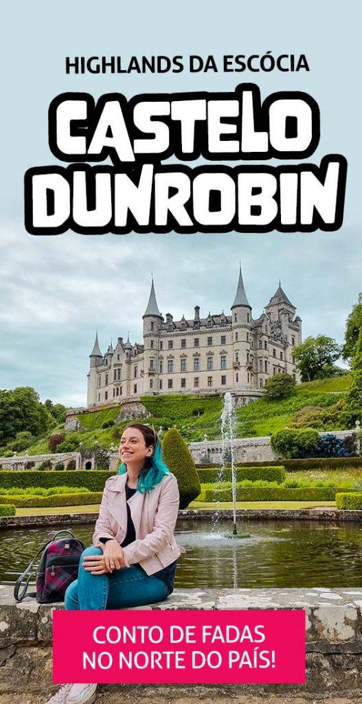 Pin Highlands da Escocia Castelo Dunrobin