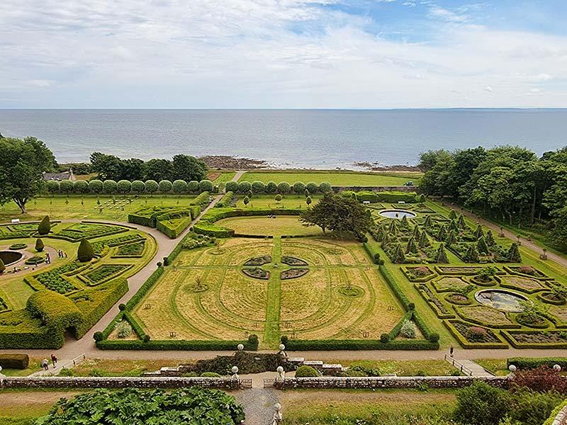 jardim influencia francesa versalhes mar do norte