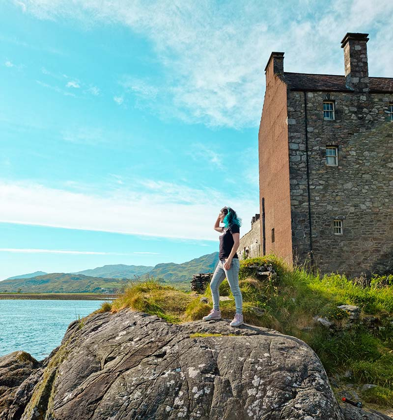 viagem eilean donan castle highlands